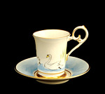 Julian Williams: Swan Lake Plain Demitasse
