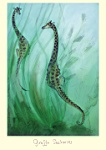 Julian Williams: Giraffe Seahorses