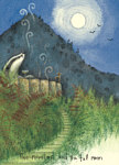 Fran Evans: The Mountain And Full Moon