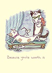 Anita Jeram: Because you are worth it