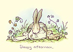 Anita Jeram: Sleepy Afternoon