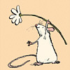 Anita Jeram: Mouse and Daisy (Peach)
