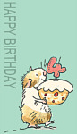 Anita Jeram: Happy Birthday 4