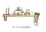 Anita Jeram: On the Mantelpiece