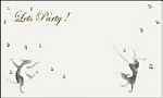 Party Invitation: Dancing Mice